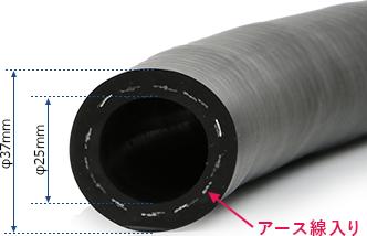 耐油ホースB0041の内径・外径